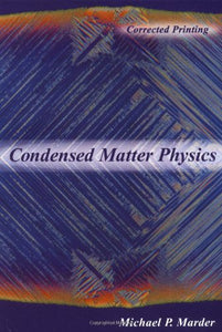 Condensed Matter Physics (Wiley-Interscience)
