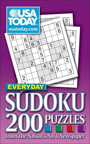 USA TODAY Everyday Sudoku: 200 Puzzles from The Nation's No. 1 Newspaper (USA Today Puzzles)