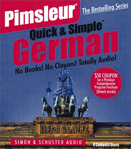 German: 2nd Ed. (Pimsleur Quick and Simple)
