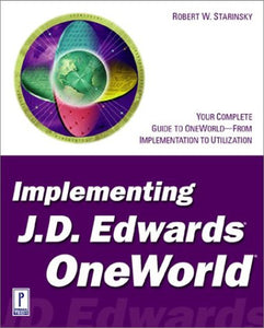 Implementing J.D. Edwards OneWorld (BAAN)
