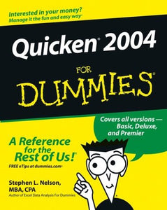 Quicken 2004 For Dummies