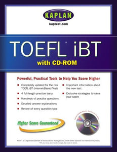 TOEFL iBT with CD-ROM (Kaplan TOEFL IBT (w/CD))