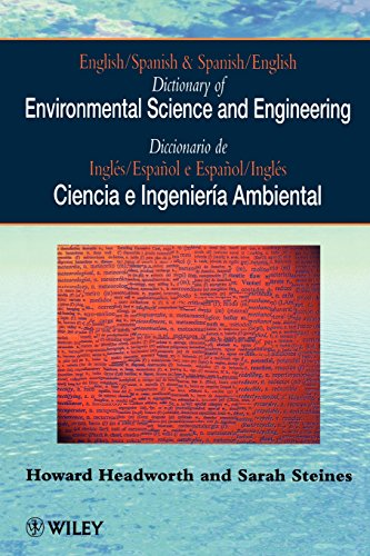English/Spanish Dictionary Of Environmental Science And Engineering