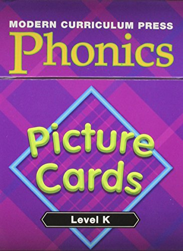 MODERN CURRICULUM PRESS PHONICS LEVEL K PICTURE CARDS 2003C