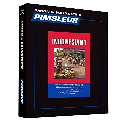 Pimsleur Indonesian Level 1 CD: Learn to Speak and Understand Indonesian with Pimsleur Language Programs (Comprehensive)