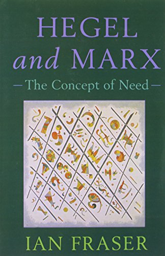Hegel, Marx and the Concept of Need: Hegel and Marx: The Concept of Need
