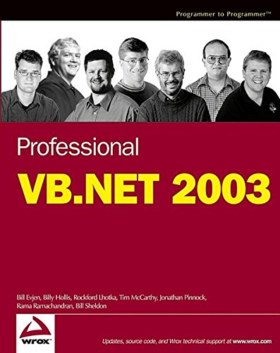 Professional VB.NET 2003