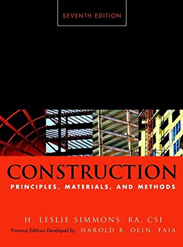 Construction Principles, Materials, And Methods