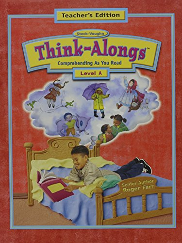 Think Alongs: Teacher Guide Level A 2000