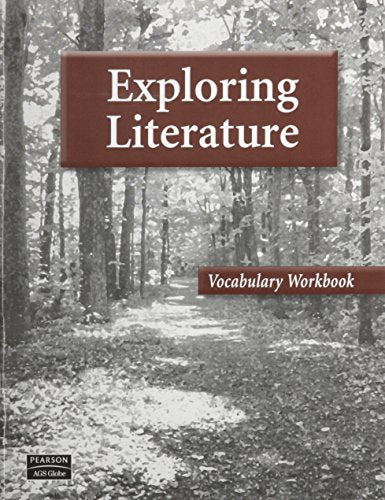 EXPLORING LITERATURE VOCABULARY WORKBOOK