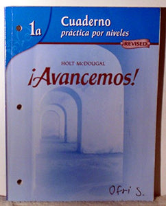 Avancemos!: Cuaderno para hispanohablantes (Student) Level 1A (Spanish Edition)