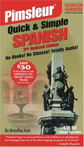 Spanish I: Learn to Speak and Understand Spanish with Pimsleur Language Programs (Pimsleur Quick and Simple)