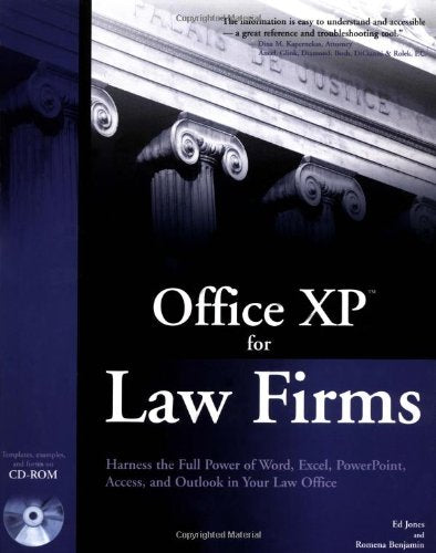 Office XP for Law Firms