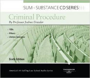 Sum And Substance Audio On Criminal Procedure