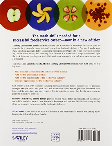 Culinary Calculations: Simplified Math For Culinary Professionals