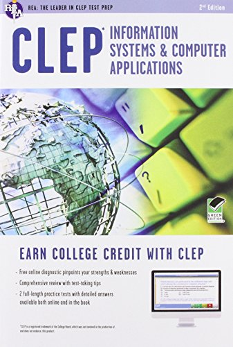 Clep Information Systems & Computer Applications Book + Online (Clep Test Preparation)
