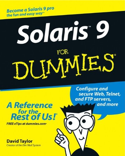 Solaris 9 For Dummies