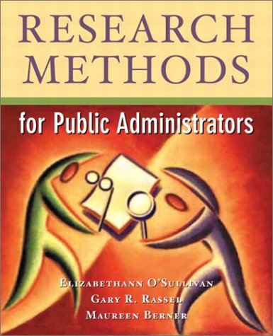 Research Methods For Public Administrators (4Th Edition)