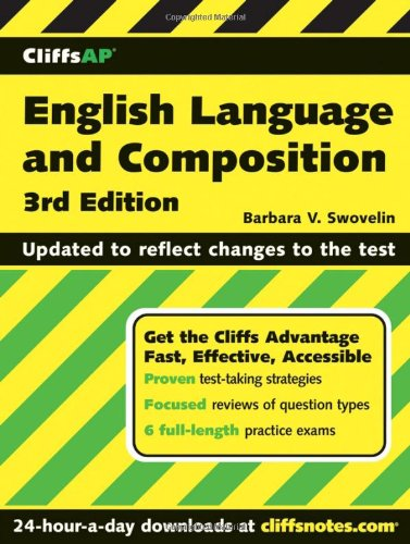 Cliffsap English Language And Composition, 3Rd Edition