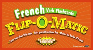 Kaplan French Verb Flashcards Flip-O-Matic (French Edition)