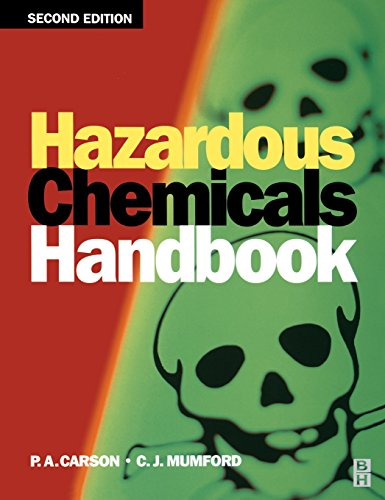 Hazardous Chemicals Handbook, Second Edition