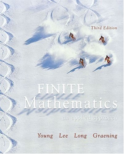 Finite Mathematics: An Applied Approach (3Rd Edition)
