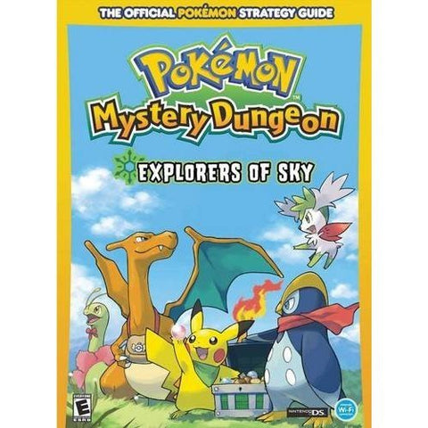 Pokemon Mystery Dungeon: Explorers Of Sky: Prima Official Game Guide