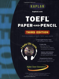 TOEFL Paper-and-Pencil (Kaplan Toefl)