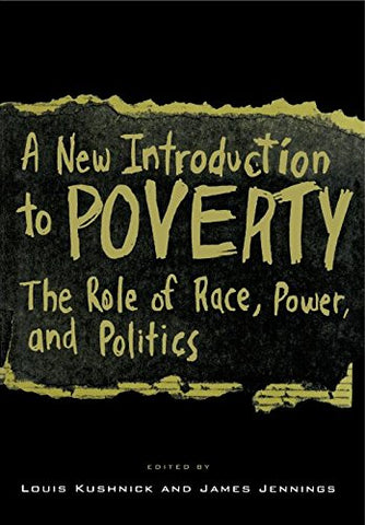 A New Introduction to Poverty: The Role of Race, Power, and Politics (South-East Asian Social Science)