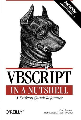 Vbscript In A Nutshell, 2Nd Edition