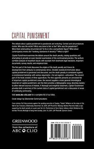 Capital Punishment (Historical Guides To Controversial Issues In America)