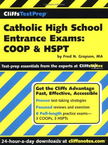 CliffsTestPrep Catholic High School Entrance Exams