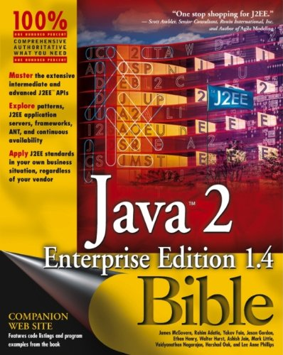 Java?2 Enterprise Edition 1.4 (J2EE 1.4) Bible