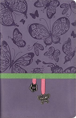 NIV, Charm Bible Collection, Imitation Leather, Purple