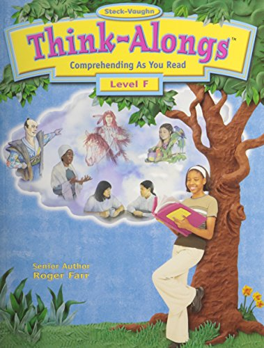 Steck-Vaughn Think Alongs: Student Workbook   (Level F)