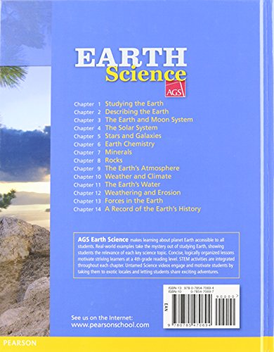AGS EARTH SCIENCE 2012 TEACHER EDITION GRADES 6/12