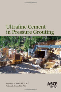 Ultrafine Cement in Pressure Grouting