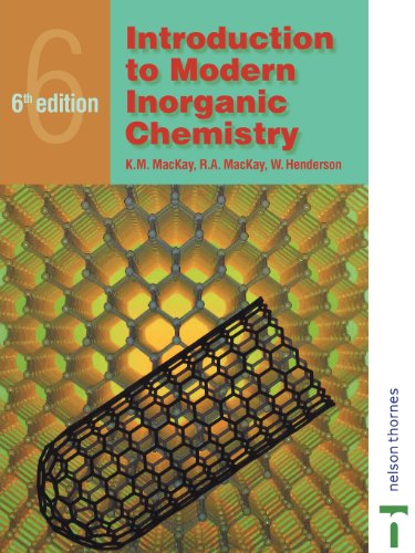 Introduction to Modern Inorganic Chemistry, 6th edition