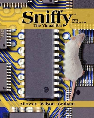 Sniffy The Virtual Rat Pro, Version 2.0 (With Cd-Rom)