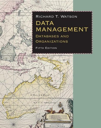 Data Management: Databases & Organizations