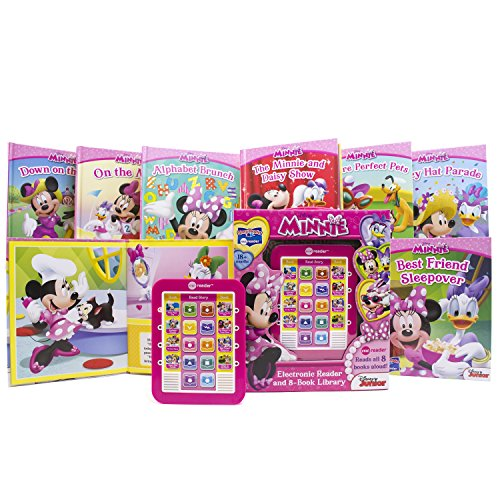 Disney Minnie Electronic Reader and 8-Book Library (PI Kids)