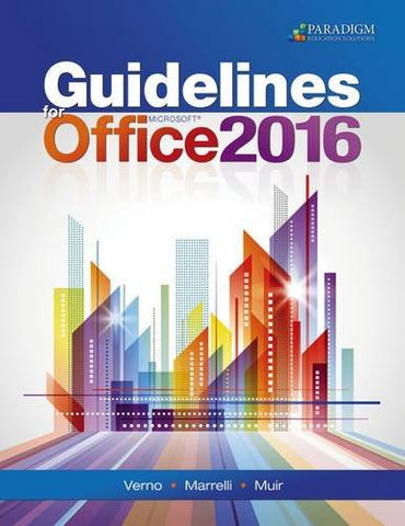 Guidelines For Microsoft Office 2016: Text