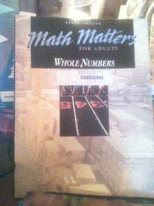 Whole Numbers (Math Matters for Adults)