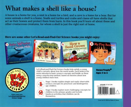 What Lives in a Shell? (Let's-Read-and-Find-Out Science 1)