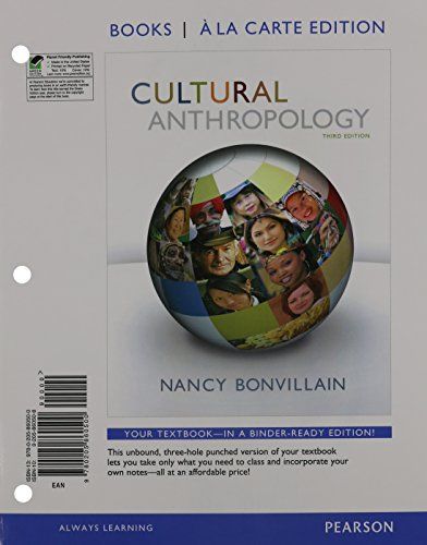 Cultural Anthropology, Books a la Carte Plus NEW MyLab Anthropology with eText -- Access Card Package (3rd Edition)