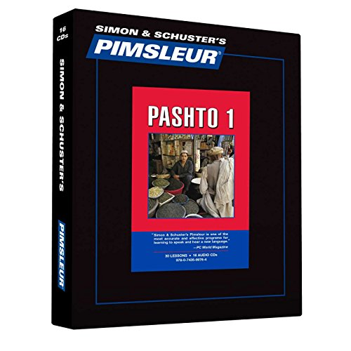 Pimsleur Pashto Level 1 CD: Learn to Speak and Understand Pashto with Pimsleur Language Programs (Comprehensive)