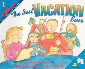 Great Source Mathstart: Student Reader The Best Vacation Ever: Collecting Data (Mathstart: Level 2 (HarperCollins Paperback))