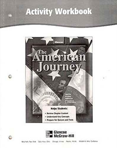 The American Journey Activity Workbook, Student Edition