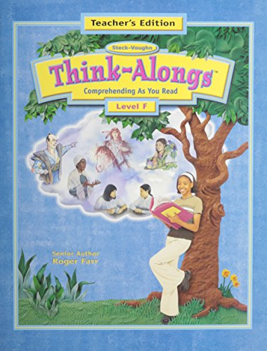 Steck-Vaughn Think Alongs: Teacher's Edition   (Level F) 2000