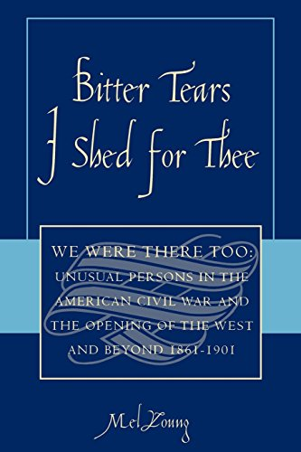 Bitter Tears I Shed for Thee: We Were There Too